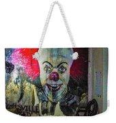 Crazy Clown Weekender Tote Bag