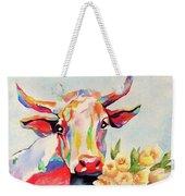 Crazy Cow Weekender Tote Bag