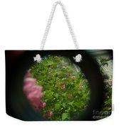 Crazy Floral Three  Weekender Tote Bag