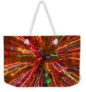 Crazy Fun Colorful Abstract Weekender Tote Bag