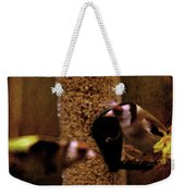 Crazy Goldfinch Weekender Tote Bag