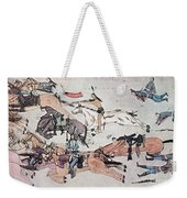Crazy Horse At The Battle Of The Little Weekender Tote Bag