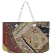 Crazy Quilt (detail) Weekender Tote Bag