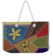 Crazy Quilt (section) Weekender Tote Bag