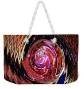 Crazy Swirl Art Weekender Tote Bag