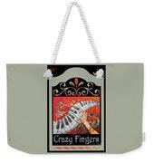 Crazyfingers_frame1 Weekender Tote Bag
