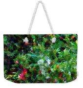 Crazyquilt Garden Weekender Tote Bag