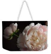 Cream And Pink Weekender Tote Bag