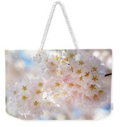 Creamy Blossoms Weekender Tote Bag