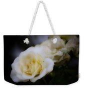 Creamy Dreamy Rose Weekender Tote Bag