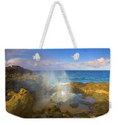 Creating Miracles Weekender Tote Bag