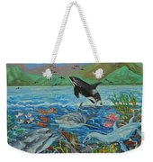 Creation Fifth Day Sea Creatures And Birds Weekender Tote Bag