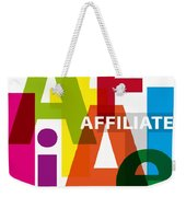 Creative Title - Affilate Weekender Tote Bag