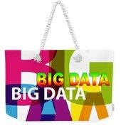 Creative Title - Big Data Weekender Tote Bag