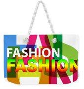 Creative Title - Fashion Weekender Tote Bag