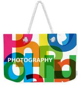 Creative Title - Photography Weekender Tote Bag