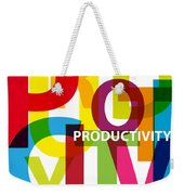 Creative Title - Productivity Weekender Tote Bag