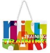 Creative Title - Training Weekender Tote Bag