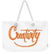 Creativity Weekender Tote Bag by Cindy Garber Iverson