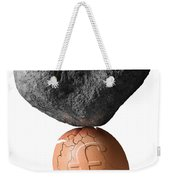 Credit Crunch Weekender Tote Bag