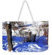 Creek Fenceline Weekender Tote Bag