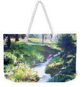 Creek Flow Weekender Tote Bag