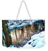 Creek In Bath Ohio Weekender Tote Bag