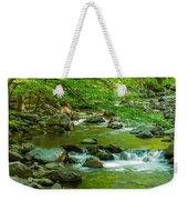 Creek In Great Smoky Mountains National Weekender Tote Bag