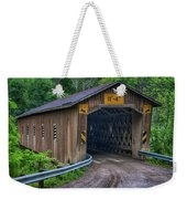 Creek Road Bridge Weekender Tote Bag