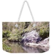 Creek Side Weekender Tote Bag