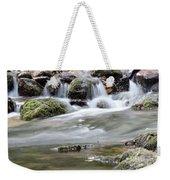 Creek With Rocks Spring Scene Weekender Tote Bag