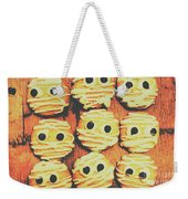 Creepy And Kooky Mummified Cookies  Weekender Tote Bag