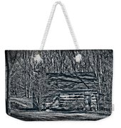 Creepy Cabin In The Woods Weekender Tote Bag