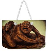 Creepy Things On The Mantel 4 Weekender Tote Bag