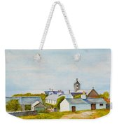 Cregneash And St Peters Church Weekender Tote Bag