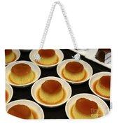 Creme Caramel Dessert Weekender Tote Bag