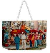 Creme De La Creme Cafe Weekender Tote Bag