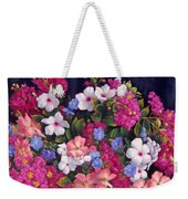 Crepe Myrtle And Roses  Weekender Tote Bag