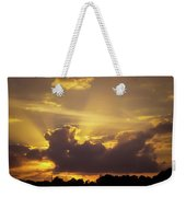 Crepuscular Rays Of Sunlight Weekender Tote Bag