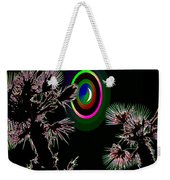Crescent And Palms 3 Weekender Tote Bag