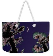 Crescent And Palms Weekender Tote Bag