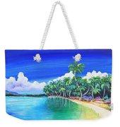 Crescent Beach Weekender Tote Bag