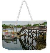 Crescent Harbor Weekender Tote Bag