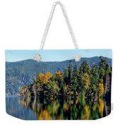 Crescent Lake Fall Colors Weekender Tote Bag