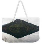 Crescent Lake Reflection Weekender Tote Bag