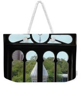 Crescent Window Weekender Tote Bag