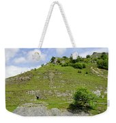 Cressbrook Dale Opposite To Tansley Dale Weekender Tote Bag