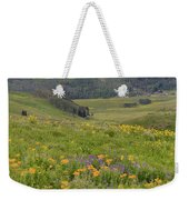 Crested Butte Valley Weekender Tote Bag