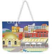 Crete Greece Horizontal Scene Weekender Tote Bag