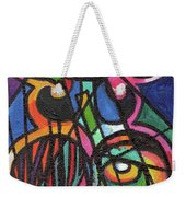 Creve Coeur Streetlight Banners Whimsical Motion 19 Weekender Tote Bag
